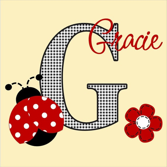 Ladybug  Wall Decal Nursery Decor Childrens Art Sticker Lady Bug