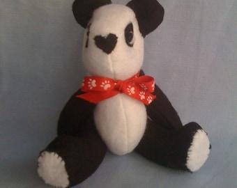 Panda Bear - 3D, jointed, movable