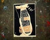 Conan O'Brien Poster (Tower Theater Philadelphia 2010)