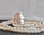 Personalized spoon ring... hand stamped with names, dates, anything