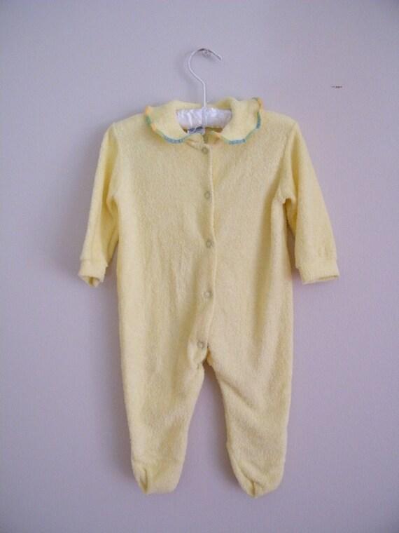 Vintage Baby Sleeper / Size Medium
