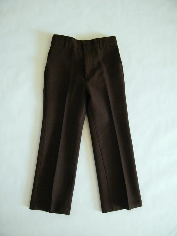 Reserved for MILEIDY Vintage 1960s Boys Brown Pants