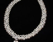 Pearl necklace. Bride Bridal Bridal Necklace Handmade Bridal Necklace Handmade Jewelry
