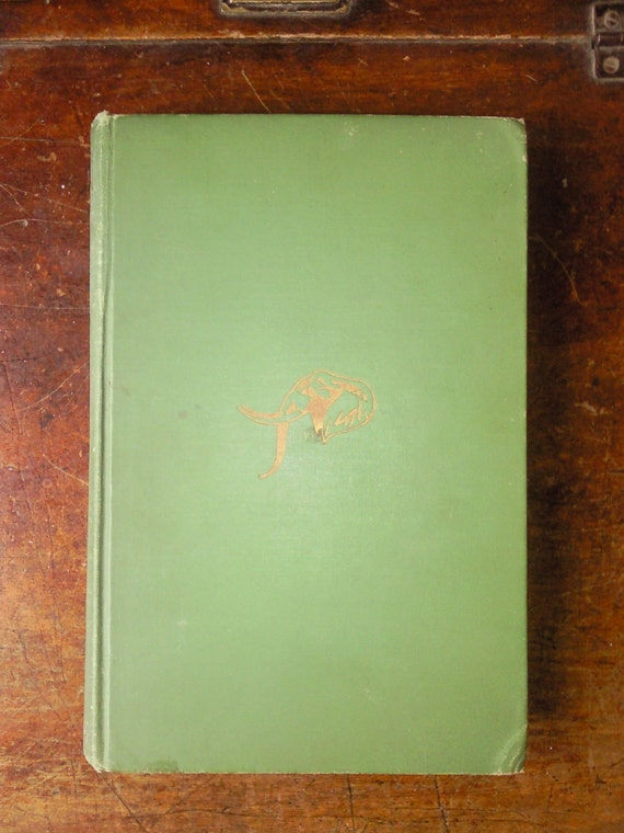 Vintage Green Book 'Trader Horn' 1927 First Edition
