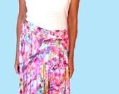 Feminine Wrap Skirt - New Spring Colors Multi Use