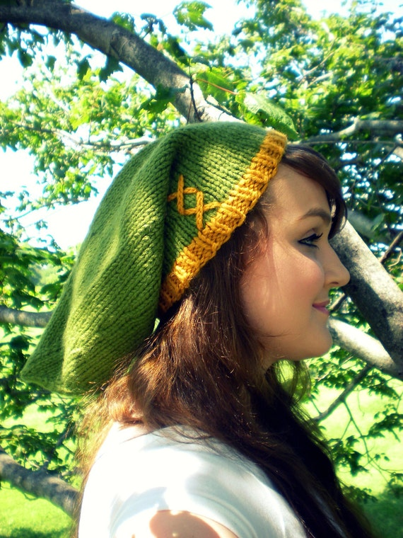 The Hero Hat V.2- Lt Green/Gold- Made to Order