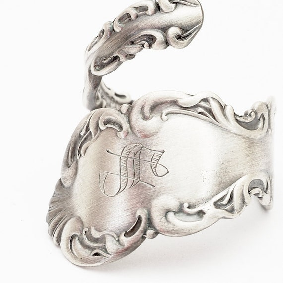 Anitque Louis XV by Whiting Sterling Spoon Ring , Handcrafted in Your Size (531)