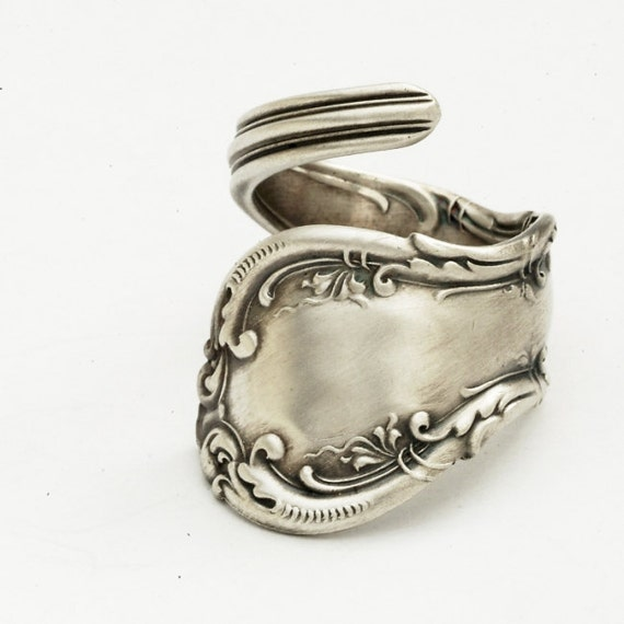 reserved for lunawolfcreations spoon ring unique by spoonier