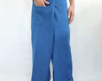 100% cotton thai fishermanpants handmade by my mum long legs style 004