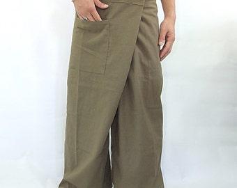 100% cotton thai fishermanpants handmade by my mum long legs style 026