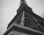 the eiffel tower - paris photography - 11x16.5