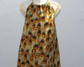 African Print girl's sundress