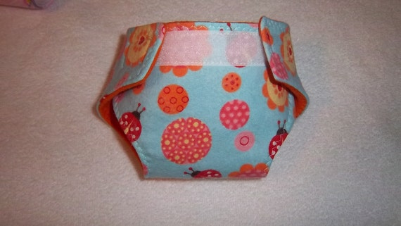 Baby doll diaper(adjustable cloth) for bitty baby, baby doll, cabbage patch, stuffed animal