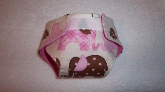 Baby doll diaper/bib(adjustable cloth) for bitty baby, baby doll, cabbage patch, stuffed animal