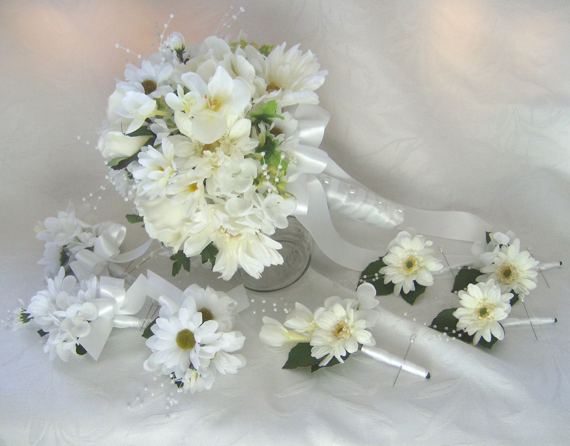 daisy bouquet wedding unavailable listing on etsy 3286