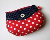 SALE - Red, White, and Blue Coin Pouch