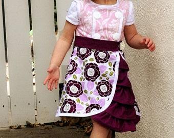 Harper Dress: Girls Bustle Dress Pattern, Baby & Toddler Bustle Dress Pattern
