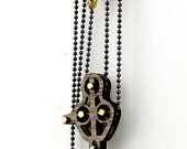 Block and Tackle Pulley Heart Pendant