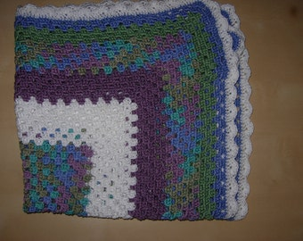 100% Cotton Square Style Baby Blanket