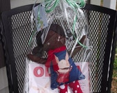 Olivia the Pig African American Doll and Book gift set - Ready to ship and perfect for Christmas