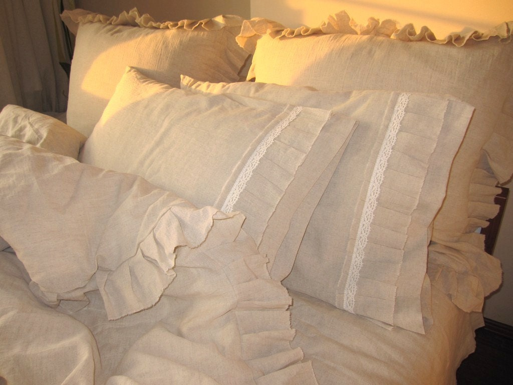 Ruffle Bedding Queen King Duvet Cover Buldan