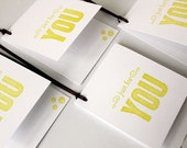Just For You Gift Card Tag - Green, Modern