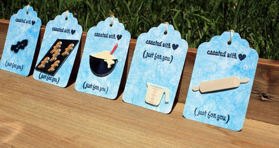 Created With Love Baking Gift Tag Set