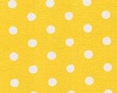 Yellow Polka Dot by Pimatex for Robert Kaufman