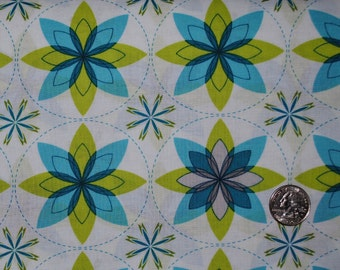 "SALE End of Bolt 1 Yard 30"" Sanctuary Geo Bloom by Michael Miller"