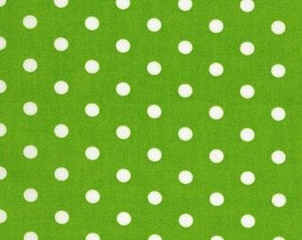 """35"""" Lime Dot by Robert Kaufman"""