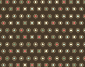 """1 yard 24"""" Domestic Diva Dot  By Emily Taylor for Riley Blake LAST ONE"""