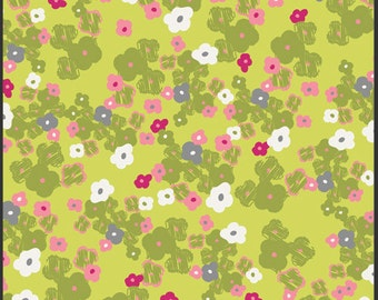 SALE 1 Yard Poetica Loves Note Citron by Pat Bravo for Art Gallery Fabrics