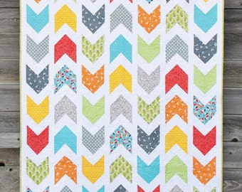 Pow Wow Quilt Pattern designed by Cluck Cluck Sew