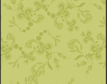 SALE 1 Yard Lilly Belle Belle Vines Oasis designed by Bari J Ackerman for Art Gallery Fabrics