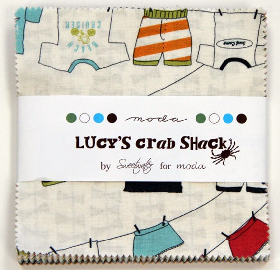 LAST ONE 1 Lucy's Crab Shack Charm Pack
