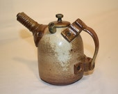 wood fire porcelain mechanic tea pot