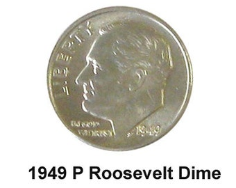 1949 P Uncirculated Roosevel Dime