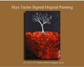 """Abstract - Last Day of Fall"""" - 18 x 24 - by Skye Taylor"""