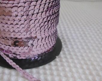 5 Yards Lavender Sequin Trim - 35