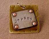 Pet Id Tag- Jersey for dog and cats