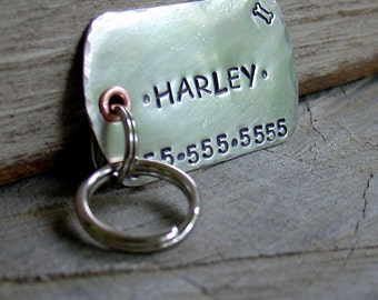 XL Military Style Dog Tag- Dog ID tag- personalized for your pet