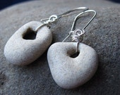 Holy Stone and Sterling SIlver Earrings by Heartsail
