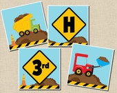 Construction Party Collection: Printable Birthday Banner