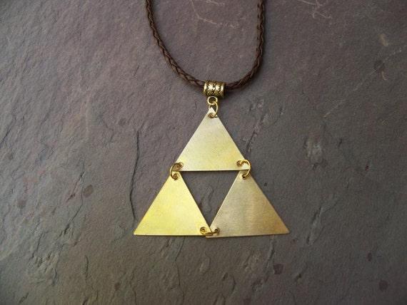 Legend Of Zelda Full Triforce Necklace