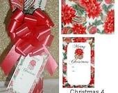 Christmas Wine Bottle Cover - Set of 3