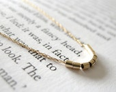 The Minimalist Necklace: Delicate Genuine 10k Yellow Gold Rope Chain w/ Tiny Gold-filled Tube Beads (18.5-inch Long Chain) LAST ONE