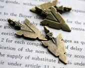10pcs of Antique Bronze Locket Charms Pendants Drops 23317