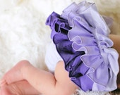 Baby Bloomer Ruffle Diaper Cover Ruffle Bloomer Panty Purple Passion