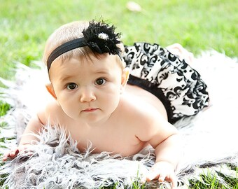 Damask Ruffle Diaper Cover Sassy Fancy Pants
