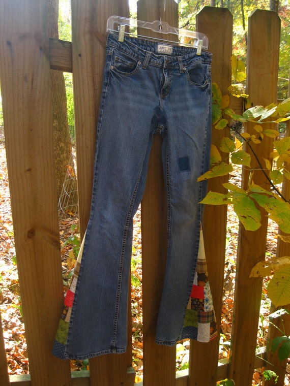 "SALE  Upcycled jeans ""Jellybean Jean"""
